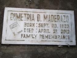 Dinetria D Maderazo