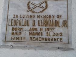Leopoldo D Gernalin, Jr.