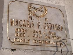 Macaria P Partosa