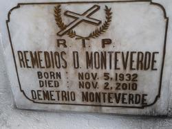 REMEDIOS D MONTEVERDE
