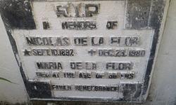 Nicolas de la Flor