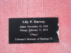 Lilly P. <I>Slater</I> Harvey