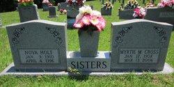 Myrtie Mae <I>Holt</I> Cross