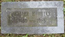 Walter H Ruter