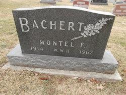 """Montell Fletcher """"Mutt"""" Bachert"""