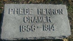Phebe <I>Tippie</I> Cramer
