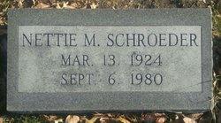 Nettie M. Schroeder