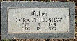 Cora Ethel <I>Walker</I> Shaw