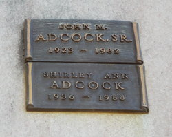 Shirley Ann Adcock