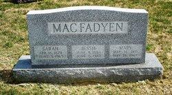 Mary MacFadyen