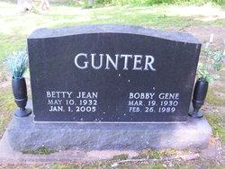 Betty J. <I>Alexander</I> Gunter
