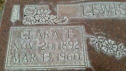 Clara <I>Thompson</I> Lewis