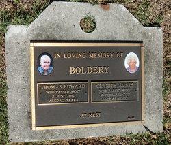 Thomas Edward Boldery