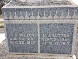 Harriette <I>Jones</I> Sutton