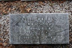 Sybil <I>Collins</I> Coursey
