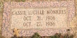 Cassie Lucille Monkres