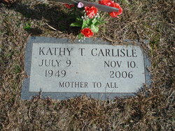 "Kathy ""Mama C"" <I>Taylor</I> Carlisle"