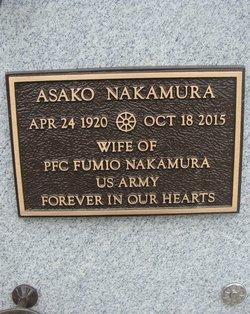Asako <I>Horio</I> Nakamura