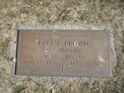 Earl Bud Brown