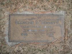 Blanche A Bennett