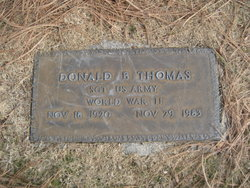 Donald B Thomas