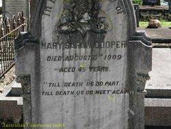 Mary Sarah <I>Loft</I> Cooper