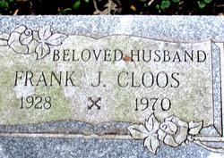 """Frances James """"Frank"""" Cloos"""