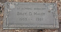 Billy D. Haley