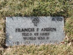 Francis F Ahern