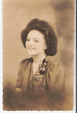 """Margaret """"Peggy"""" <I>Holcroft</I> Bates"""