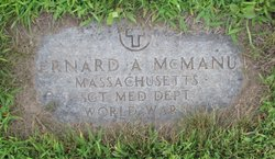 Sgt Bernard Aloysius McManus