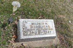 Mildred M. <I>Robinson</I> Siedschlag