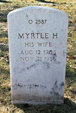 Myrtle H Ahrens