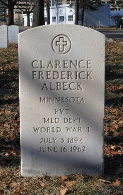 Clarence Frederick Albeck