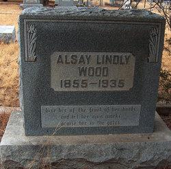 Clair Alsay <I>Lindley</I> Wood