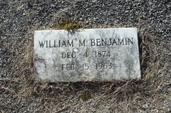 William M Benjamin