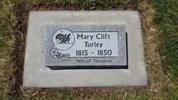 Mary <I>Clift</I> Turley