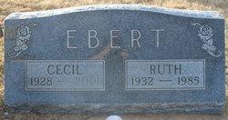 Ruth Ellen <I>Johnson</I> Ebert
