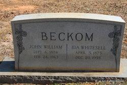 Ida <I>Whitesell</I> Beckom
