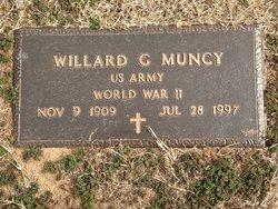Willard G Muncy