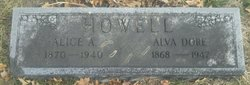 Alice A. <I>Spidell</I> Howell