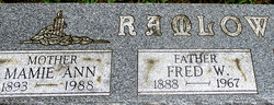 Mamie Ann Ramlow