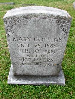 Mary <I>Collins</I> Myers