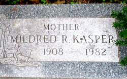 Mildred R <I>Helmboldt</I> Kasper