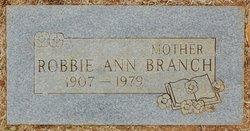 Robbie Ann <I>Baskin</I> Branch