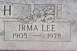 Irma Lee <I>Emmerson</I> Smith