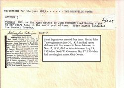Thoroughman Family Trees, Crests, Genealogy, DNA, More