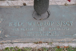 SSGT Kyle Waldrop