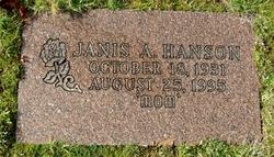 Janis A. Hanson
