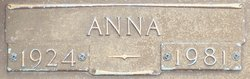 Anna <I>Pleyo</I> Wittman